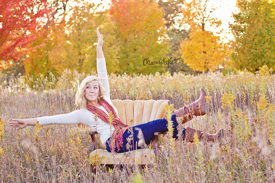 Bloomington Illinois Senior photographer