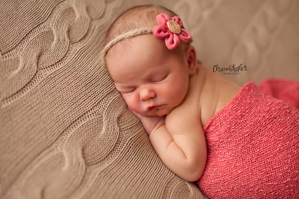 tushie up newborn pose