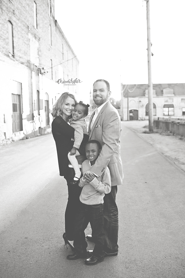 Bloomington Illinois Photographer - family of 4 session