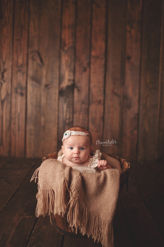 Goodfield Illinois Photographer 3 month photo ideas