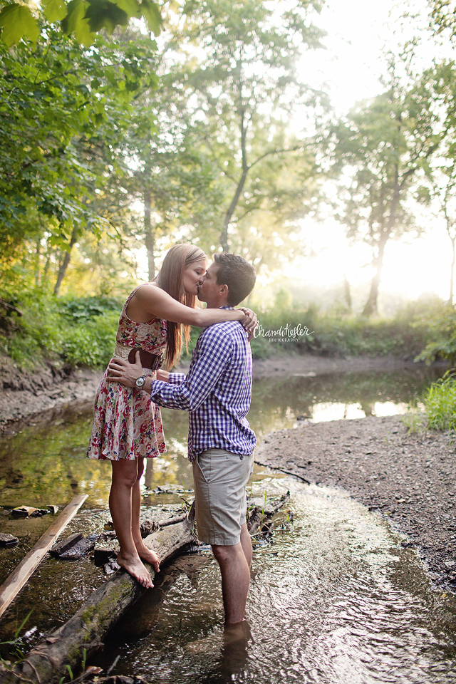 Gridley Illinois Photographer - Creek Photography Session