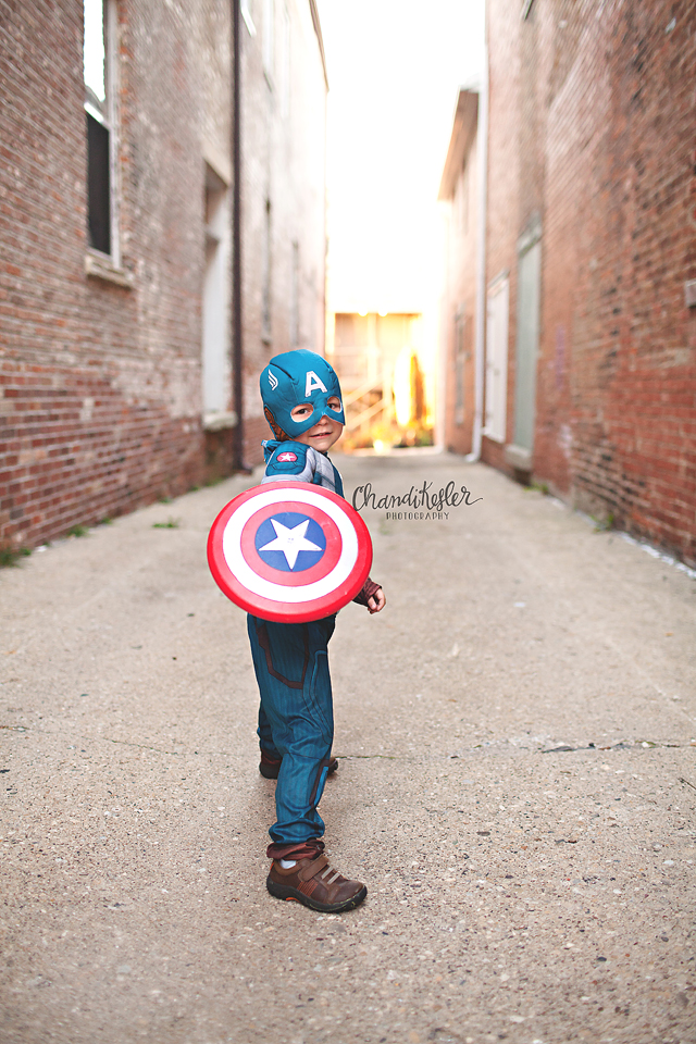 Superhero Photo Session - Bloomington IL Photographer