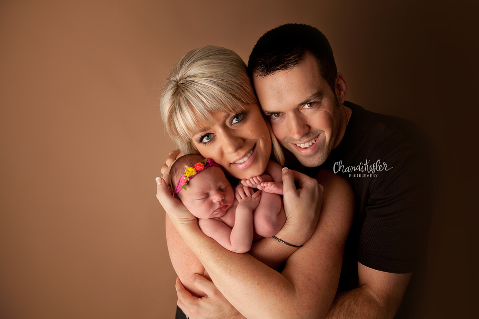 Baby girl newborn session - Chandi Kesler Photography - Peoria IL Photographer