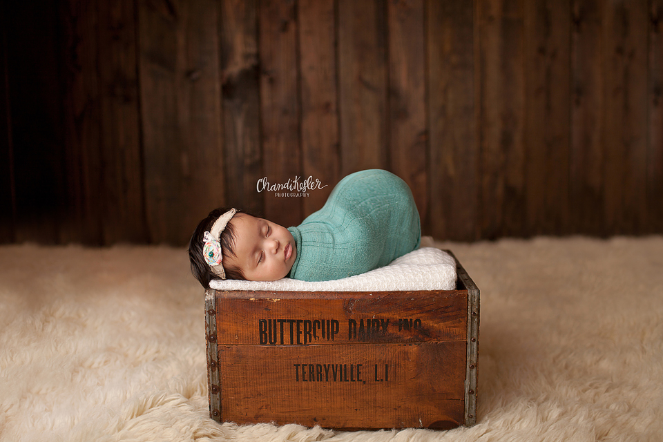 Peoria IL Baby Photographer -  3 month old studio session