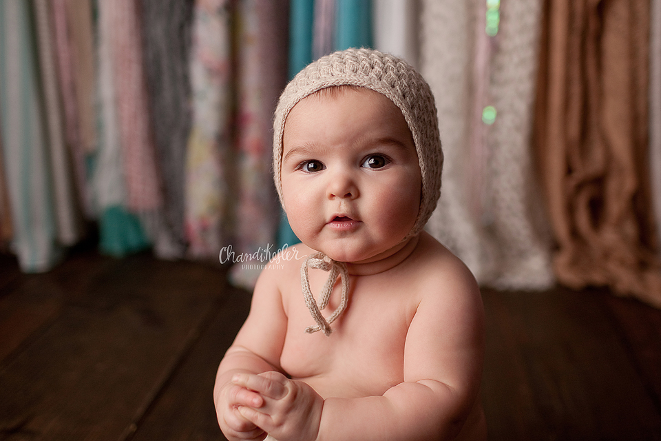 Champaign iL Baby Photographer - 6 month baby | Chandi Kesler Photography