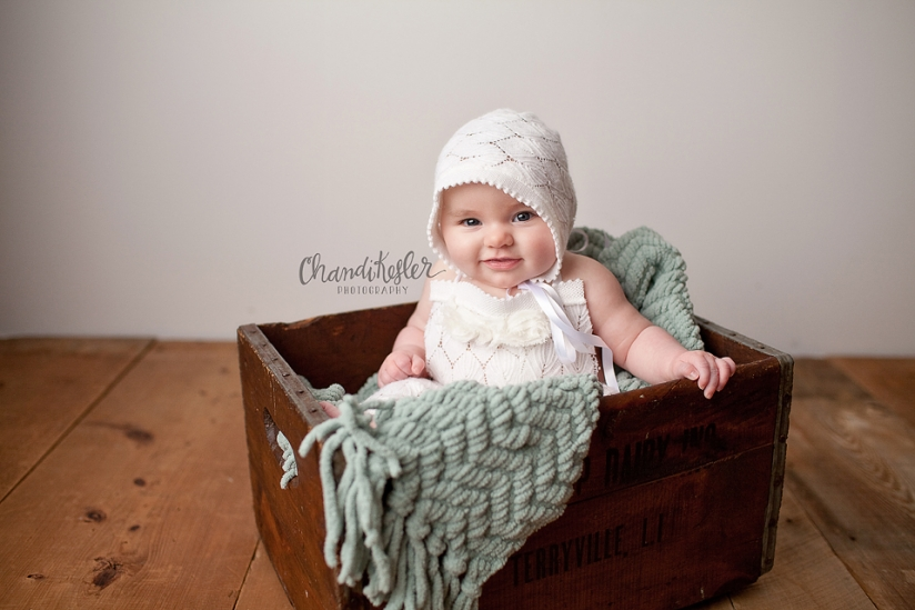 Streator Baby Bloomington Photographer | 3 Month Baby Session | Chandi Kesler Photography