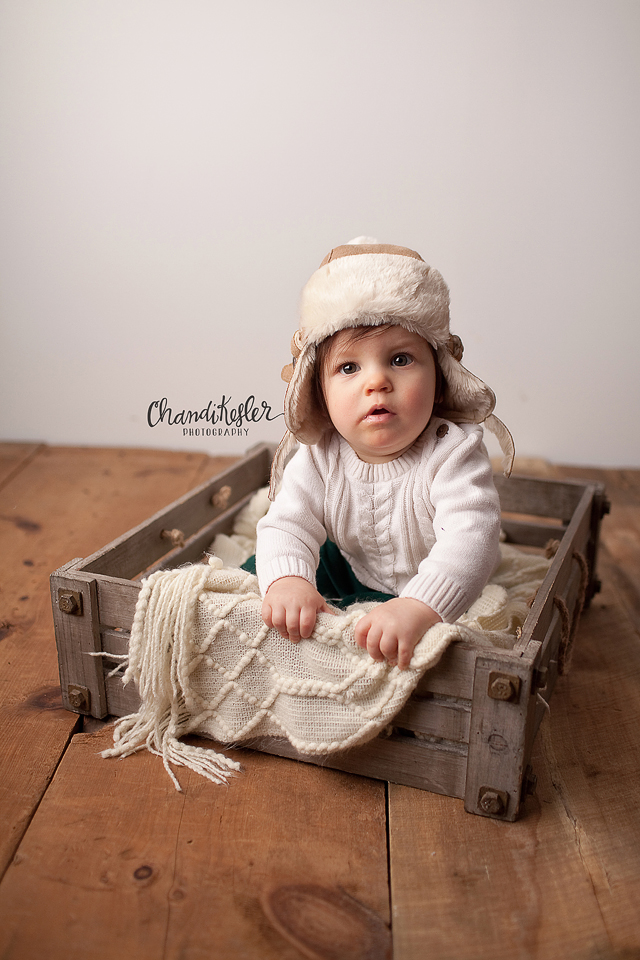 Bloomington iL Photographer - Chandi Kesler Photography - 9 month session
