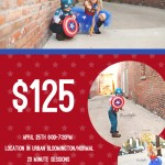 Bloomington IL Baby Decatur Child Photographer | SuperHero Mini Sessions are Here