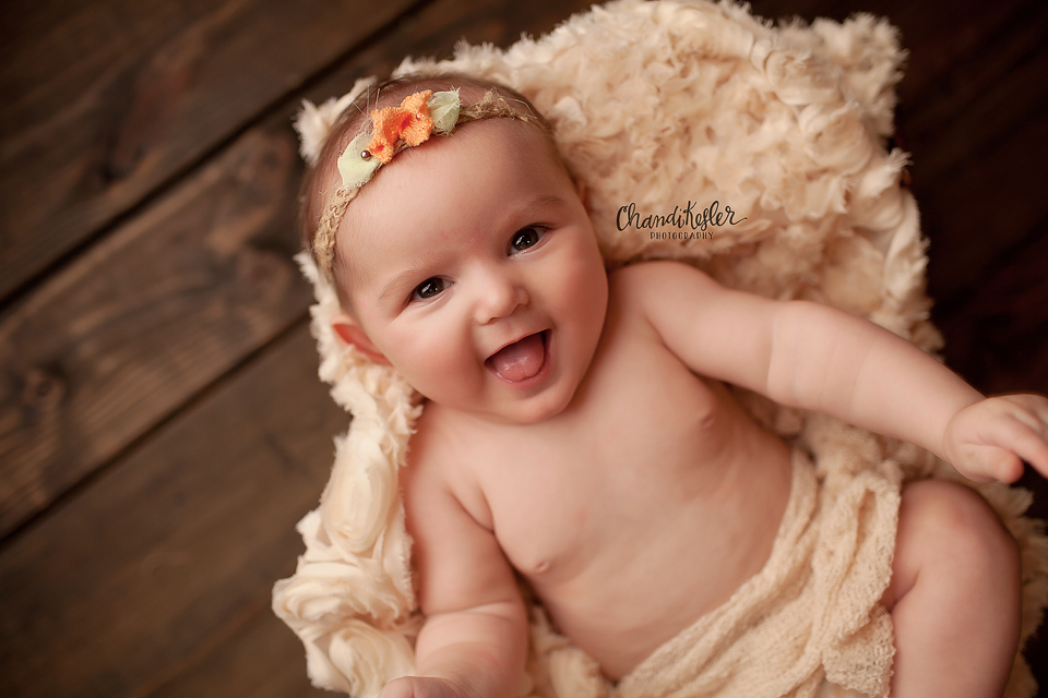 Bloomington IL Photographer | Chandi Kesler Photography | 3 month old baby session