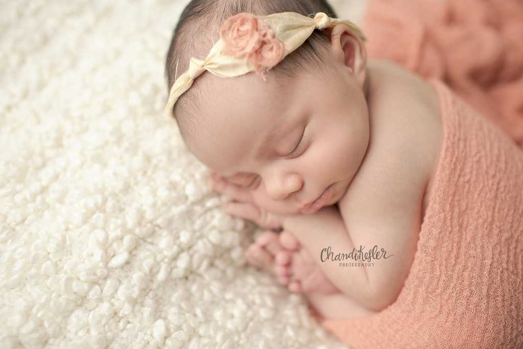 Champaign Photographer | Newborn Girl Pictures | Chandi Kesler Photography
