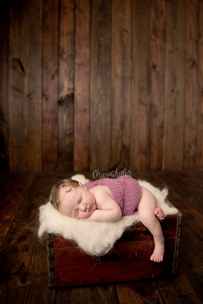 Newborn girl Session | Newborn Posing | Chandi Kesler Photography | Peoria IL Photographer
