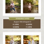 Now Booking Sunset Creek Mini Sessions | Bloomington IL Newborn Peoria IL Child Photographer