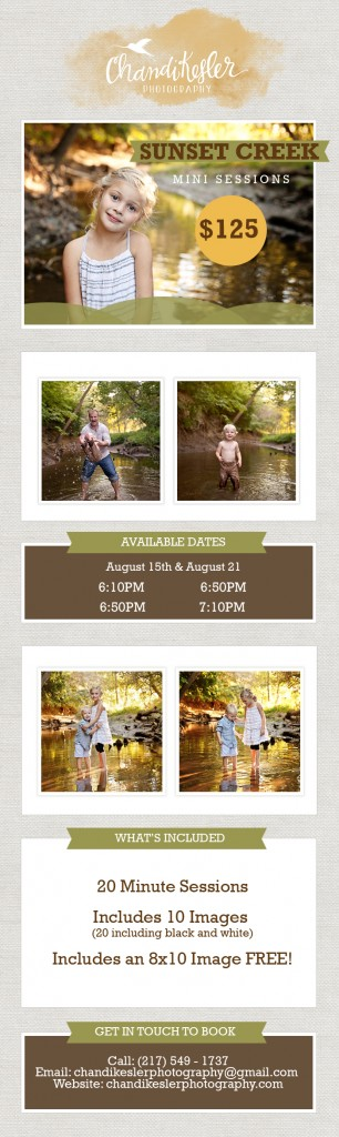 Creek Mini Sessions