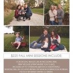 2015 Fall Mini Sessions are Now Booking