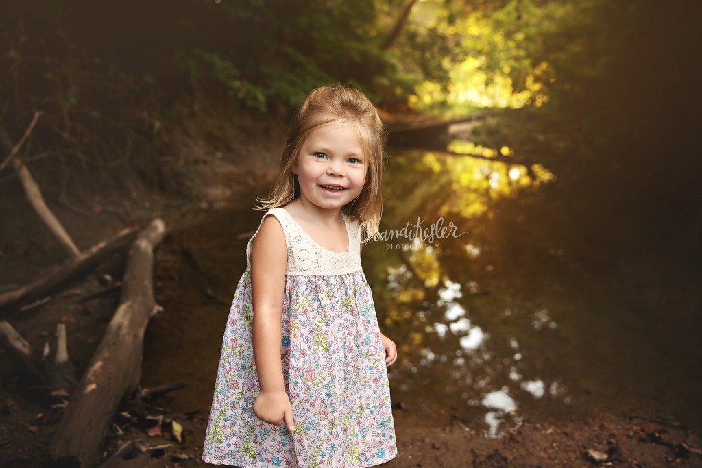 Creek Photo Session | Bloomington IL