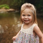 Sunset Creek Photo Session with Ellie | Bloomington Child Peoria Baby Photographer