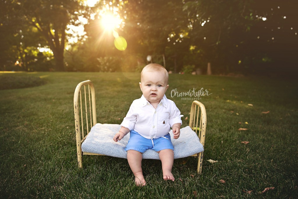 6 Month Baby Session | Peoria Baby Photographer | Chandi Kesler Photography