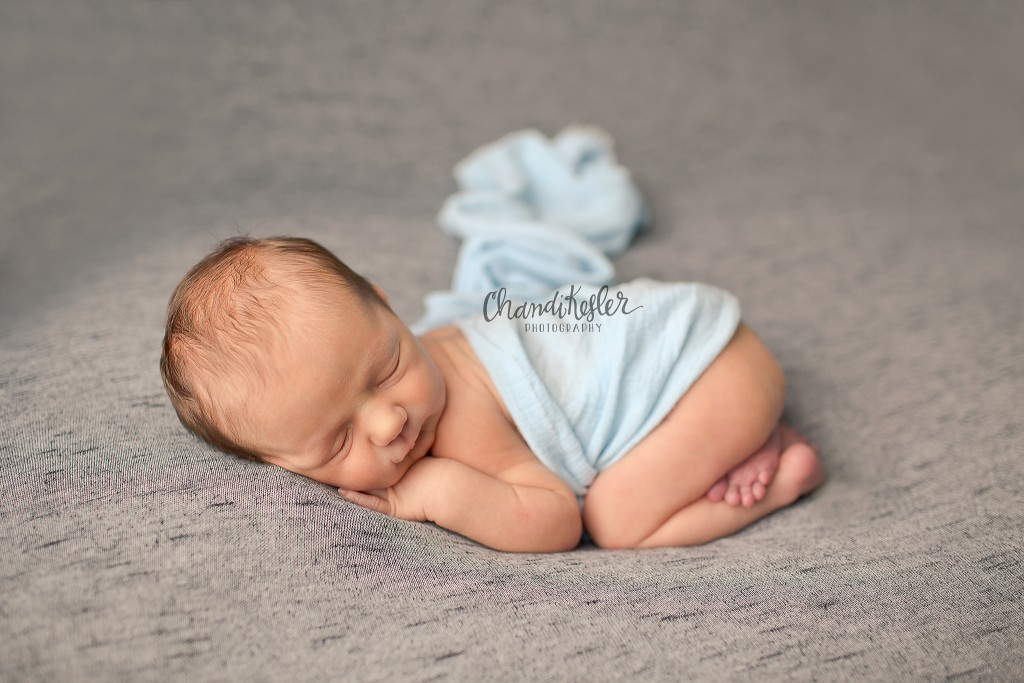 Mahomet IL Newborn Photographer | Newborn Baby Boy photo session | Chandi Kesler Photography