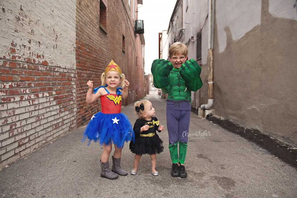 Decatur IL Photographer | Superhero photo session | Chandi Kesler Photography