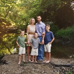 Creek Photography Sessions | Bloomington IL Family Peoria Child Photographer