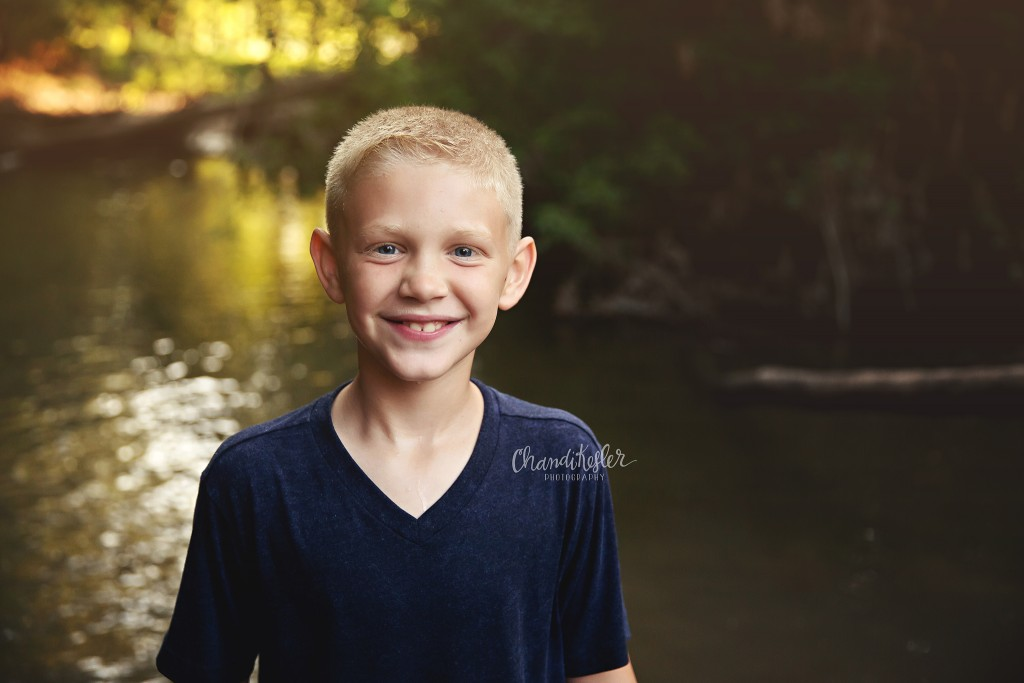 Creek Photo Session - Mahomet Photographer