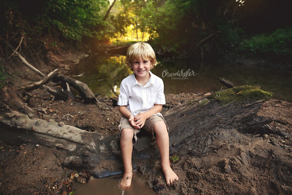 Creek Photo Session - Pontiac Photographer