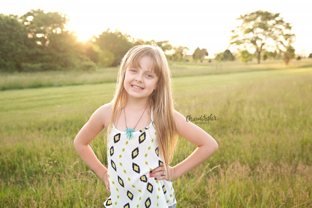 Family Session with Tweens | Normal IL Photographer | Chandi Kesler Photography
