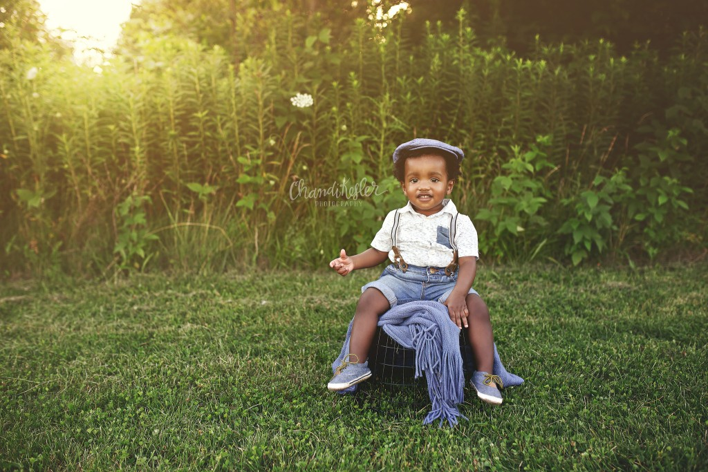 1 Year Baby Outdoor Session | Peoria IL Photographer | Chandi Kesler Photography