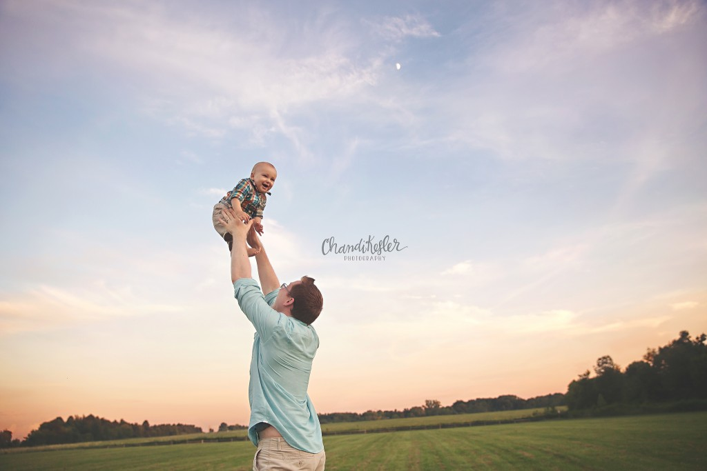 Champaign IL Family Photography Session | Chandi Kesler Photography | one year photos