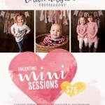Valentine's Day Mini Sessions Now Booking | Bloomington IL Baby Congerville IL Child Photographer