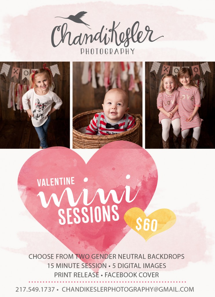 valentine mini session | bloomington il photography