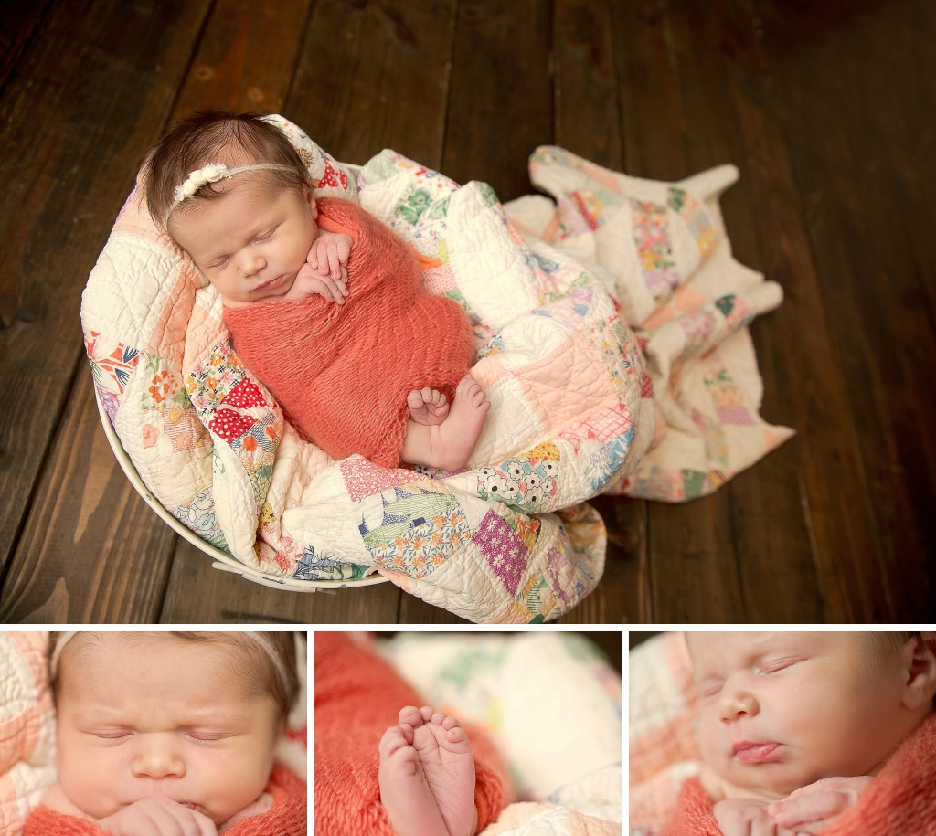 Newborn prop Pose | Newborn macro poses | bloomington il photographer
