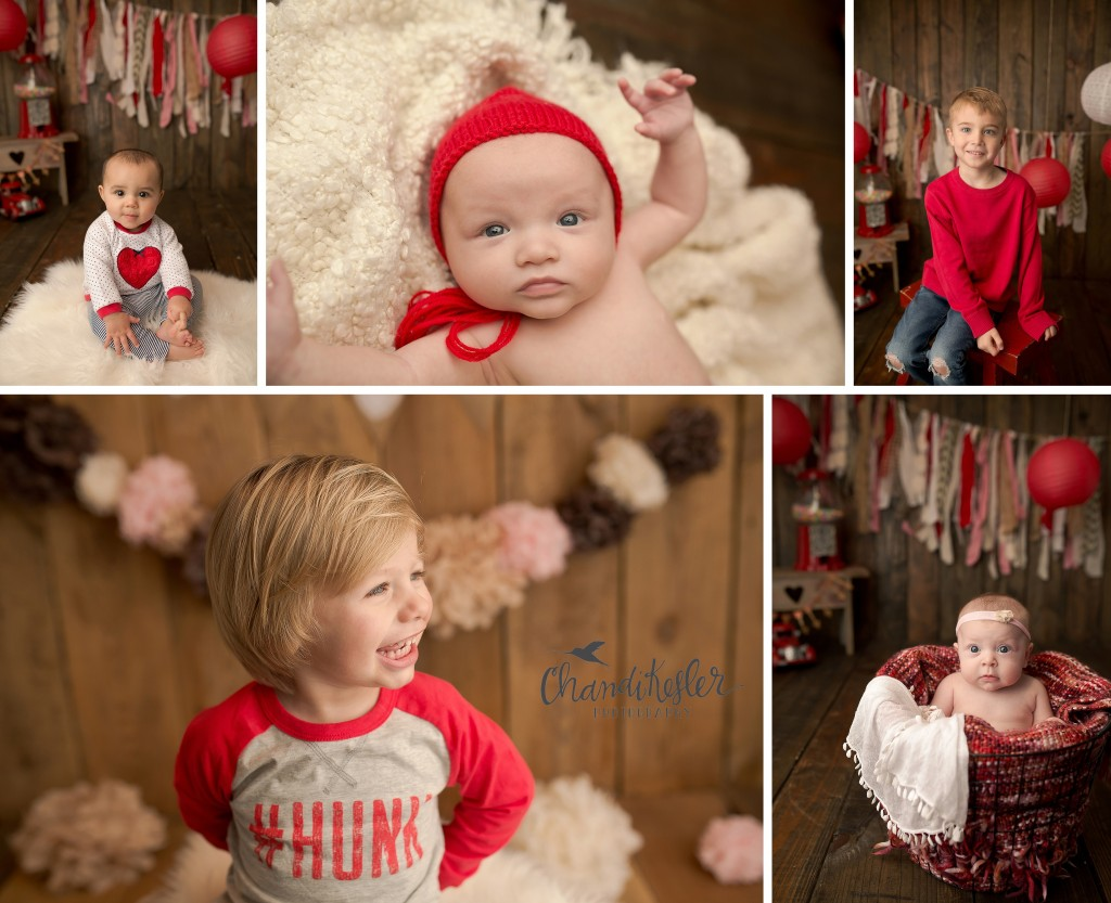 Decatur IL Photographer |Studio Valentine Mini Session Ideas | Chandi Kesler Photography