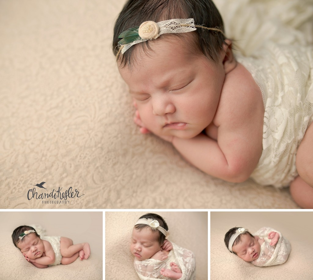 Newborn Wrap posing | Chandi Kesler | Best Central IL Newborn photographer