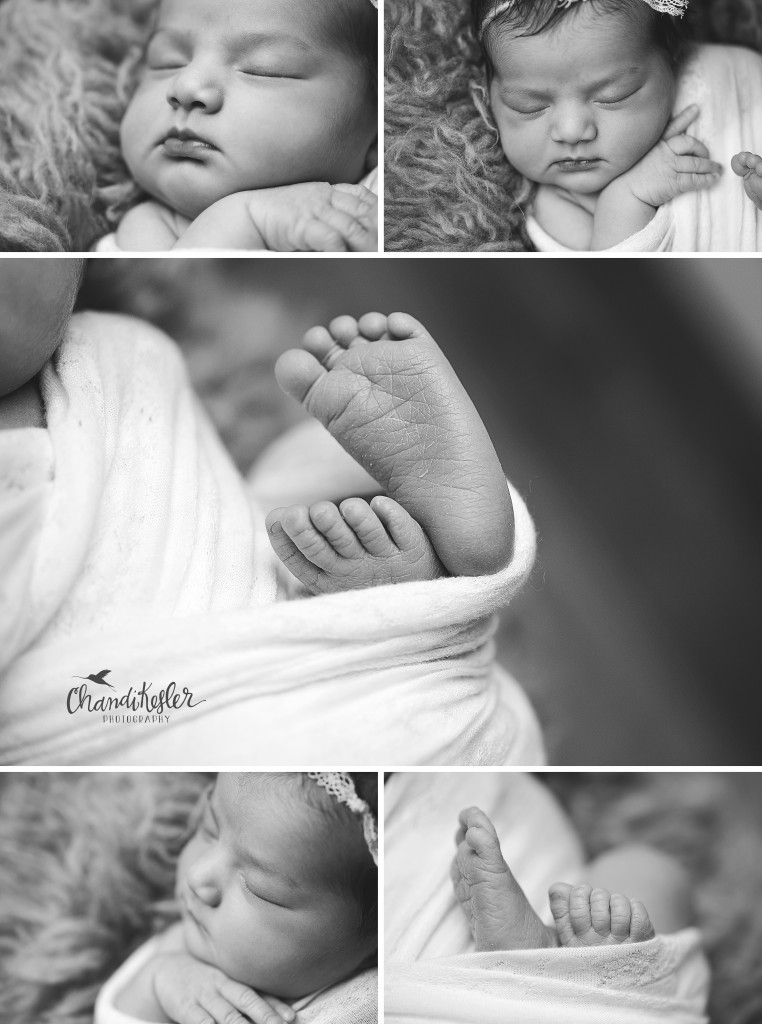 Newborn macro photography | Chandi Kesler | Best Central IL Newborn photographer