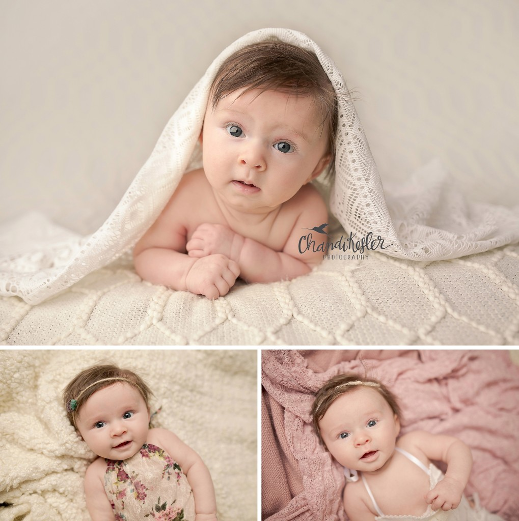 Gibson City IL Photographer | Chandi Kesler Photography | 3 month baby session