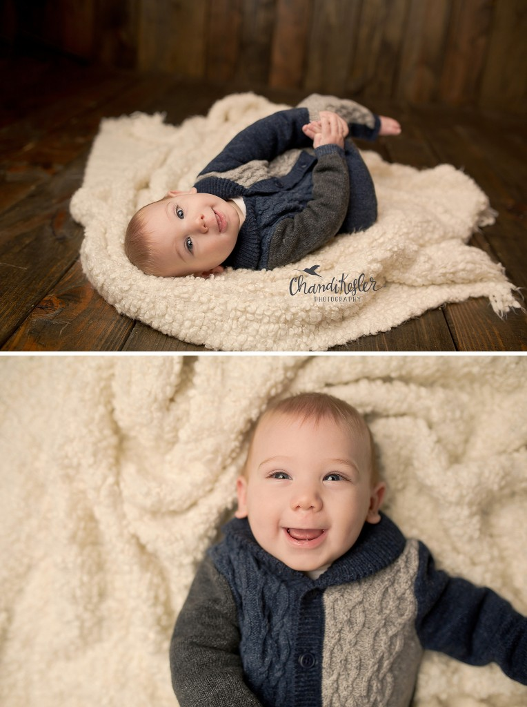 Best Central IL Photographer | Champaign IL Photographer | 6 month pictures