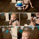 1 Year Session and Cake Smash with Brody | Charleston IL Baby Danville IL Photographer
