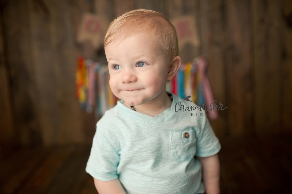 1 year photo session | Danville IL Photographer | Chandi Kesler Photography