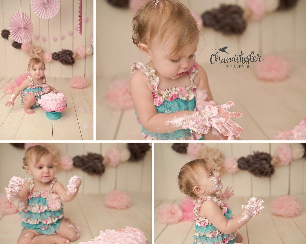 Decatur IL Baby Photographer | Cake Smash Session | Chandi Kesler Photographer
