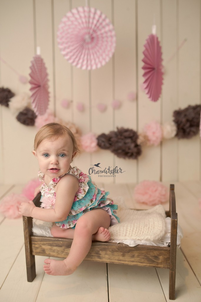 Decatur IL Baby Photographer | 1 year Session | Chandi Kesler Photographer