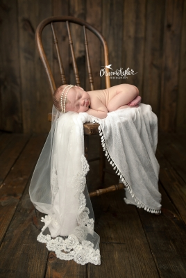 Bloomington IL Newborn Photographer | Newborn Girl Session_0313