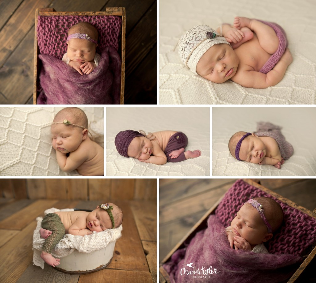 Chillicothe IL Newborn Photographer | Newborn Girl Session