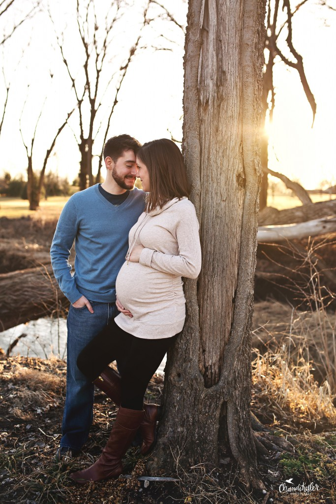 Pekin IL Photographer | Maternity Session | Chandi Kesler Photography