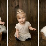 1 Year Session + 3 Month Session with Summer and Andi | Streator IL Baby Photographer