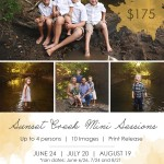 Bloomington IL Creek Mini Sessions | Now Booking