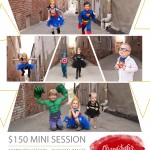 Now Booking Superhero Mini Sessions