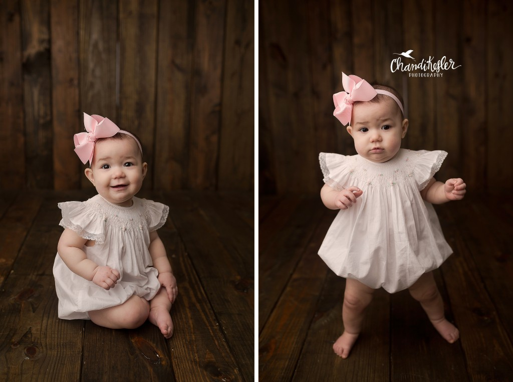 Decatur IL Baby Photographer | Chandi Kesler Photography | 9 Month pictures