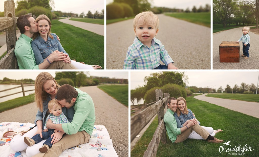 Metamora IL Family Photographer | Central IL Photographer | Family of 3 picture ideas