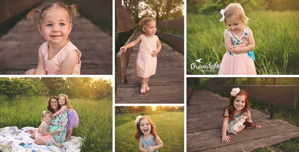 Metamora IL Photographer | Rural Maternity Session | Family of 4 maternity pictures
